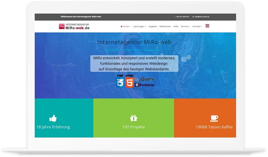 Internetagentur-MiRo-web-Homepage